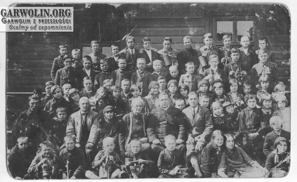 Pamiątka szkolna z Pilawy, rok 1930