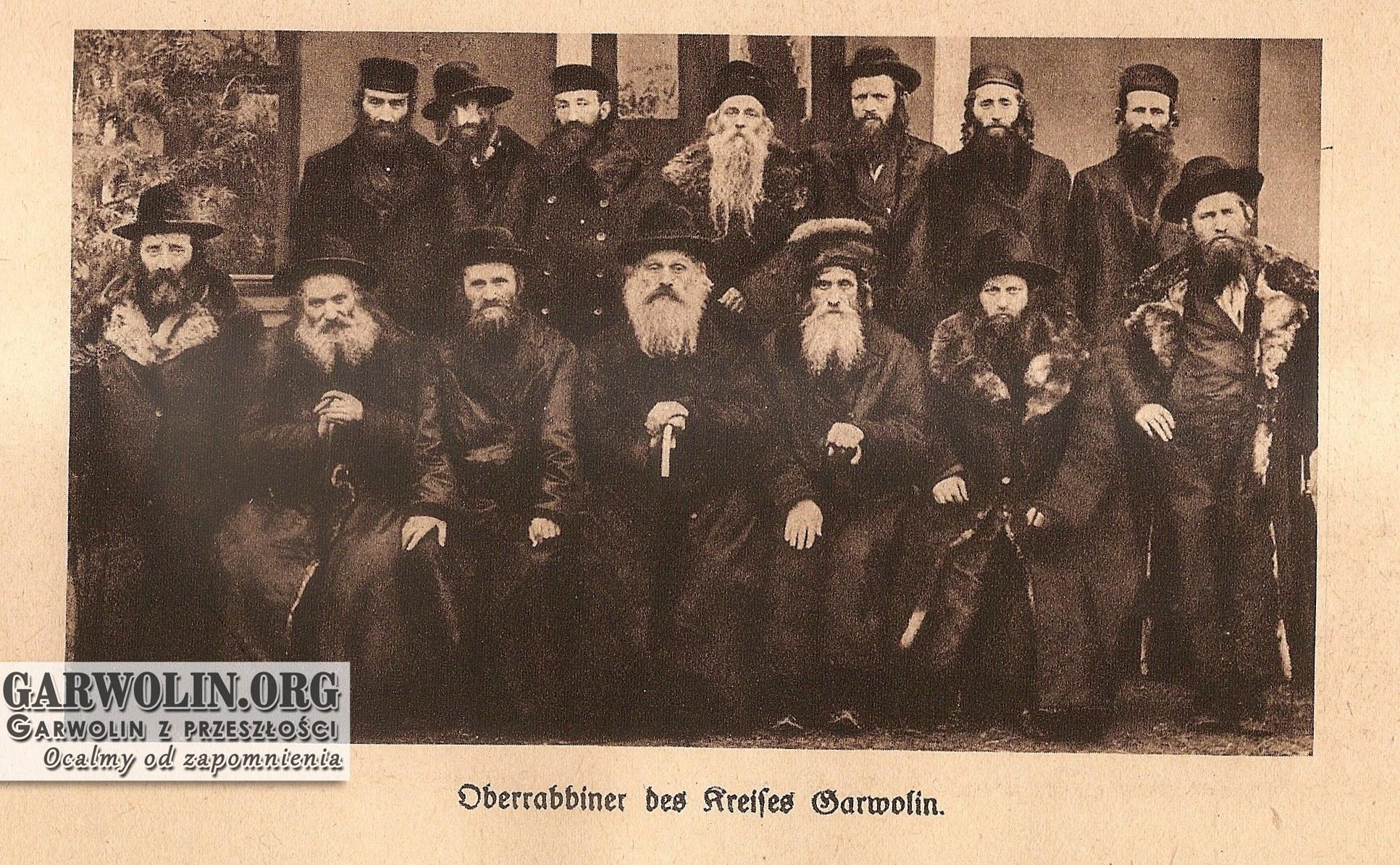 Rabini powiatu garwolińskiego