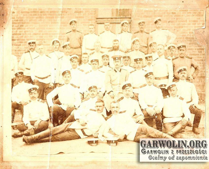 Dragoni w 1907 roku