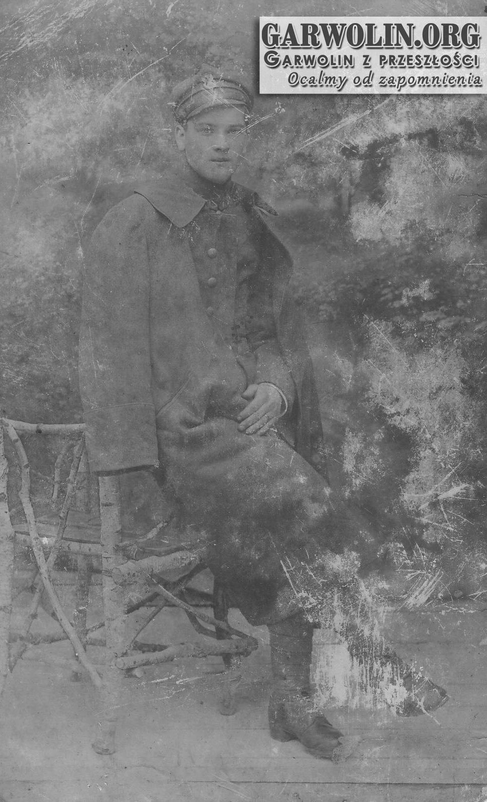 Dla sympatycznej p. Maryś i Cesi - 1918