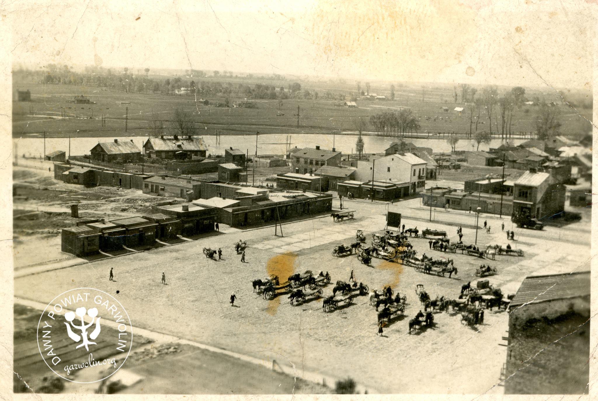 Panorama okupacyjnego Garwolina