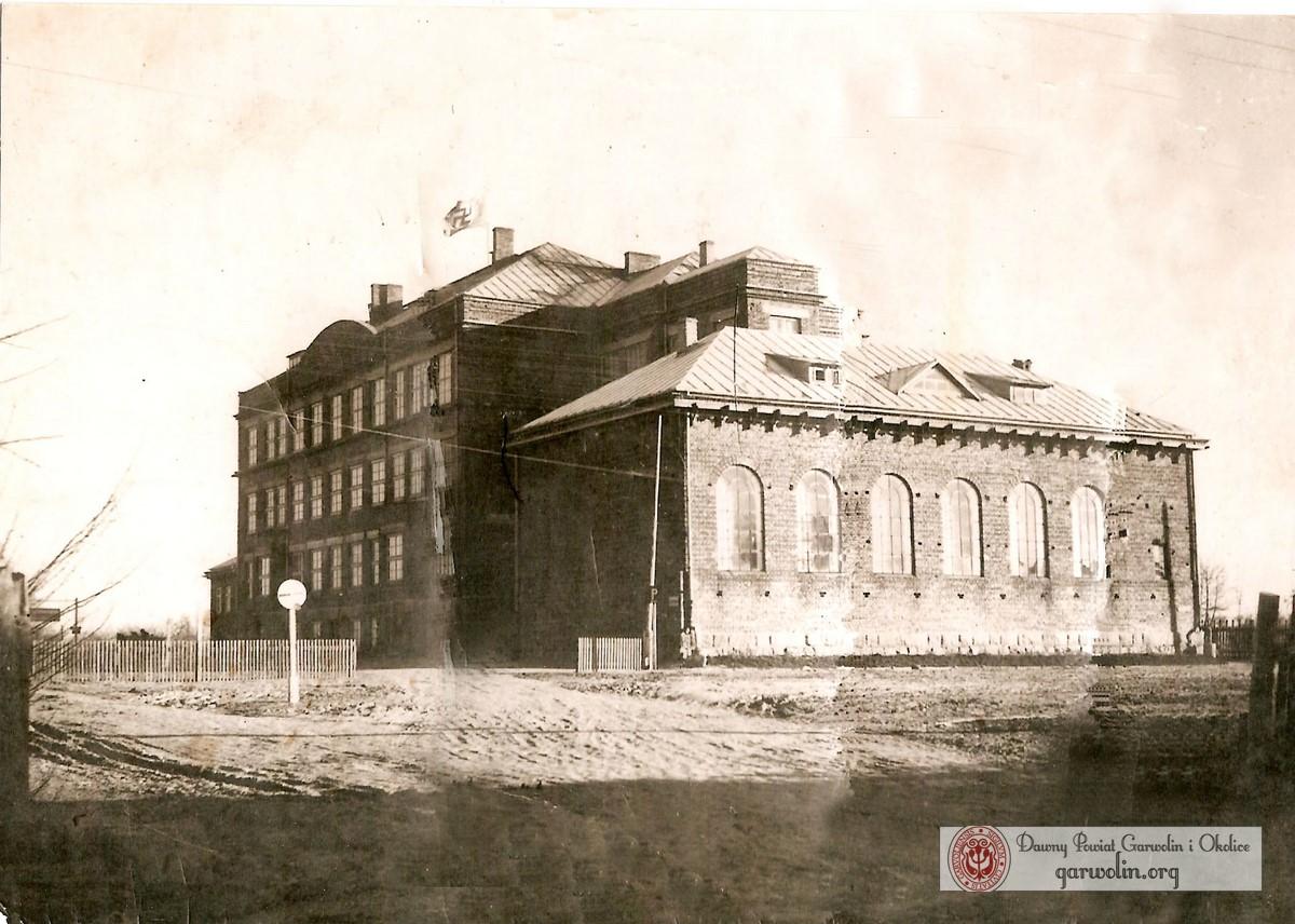 Szkoła nr 1 w Garwolinie w czasie okupacji niemieckiej