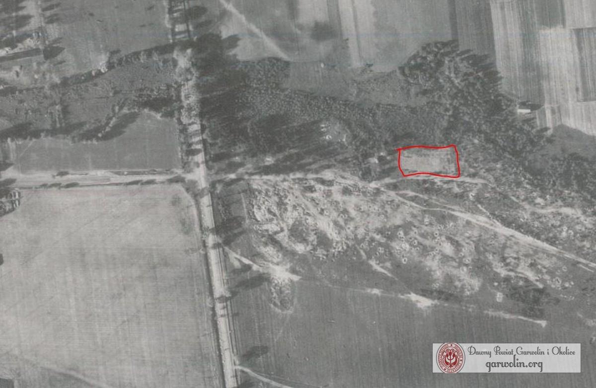 Cmentarz Żydowski w Sulbinach w 1944 r.