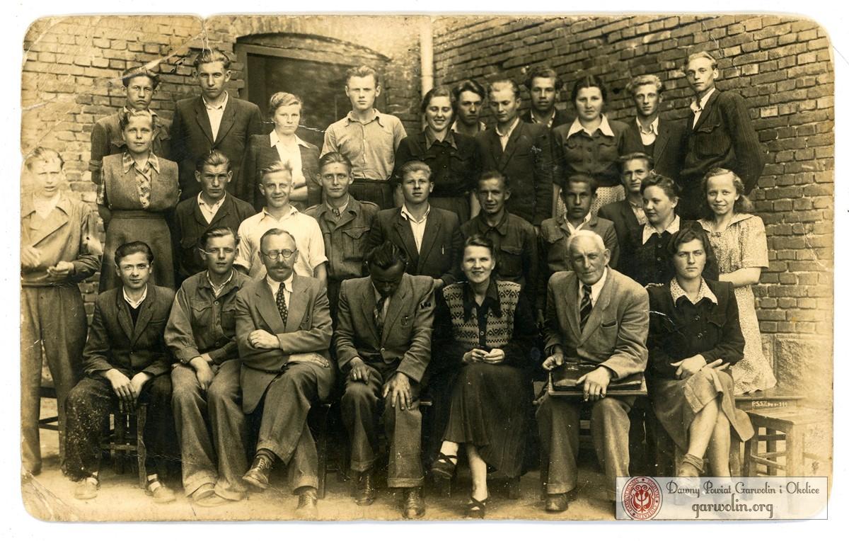 Szkoła Zawodowa w Garwolinie dn. 23 VI 1951.