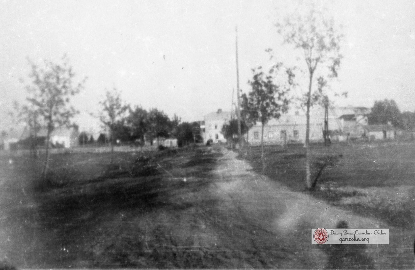 Ulica Jana Pawła z czasów okupacji niemieckiej
