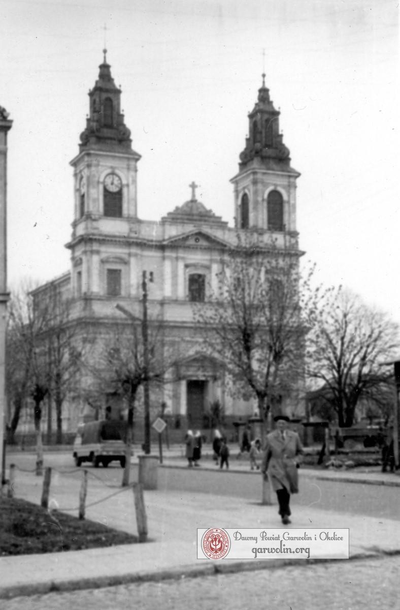 Garwolin z przełomu lat 60-70. XX w.