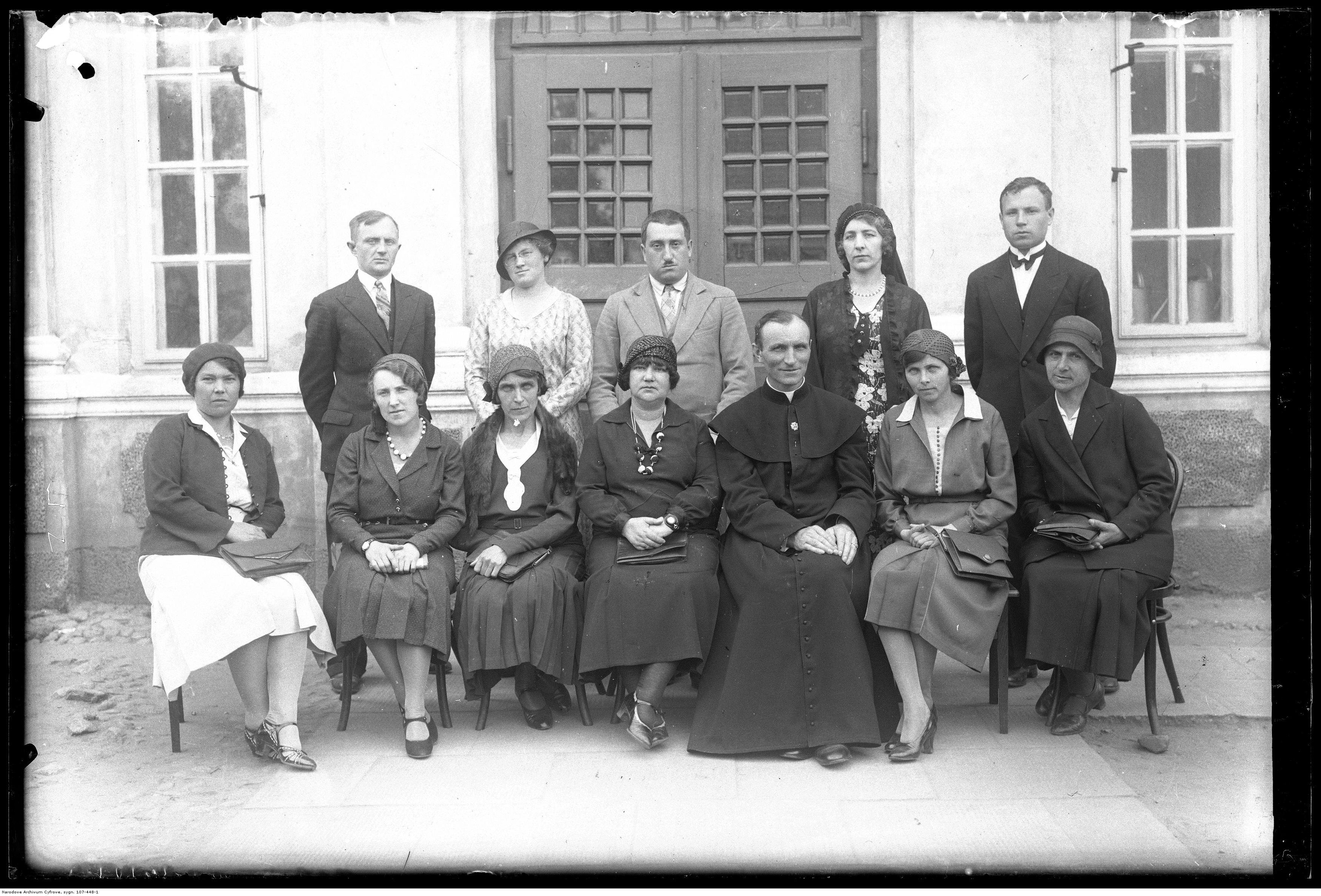 Szkoła Żeńska w Garwolinie 1932 r.