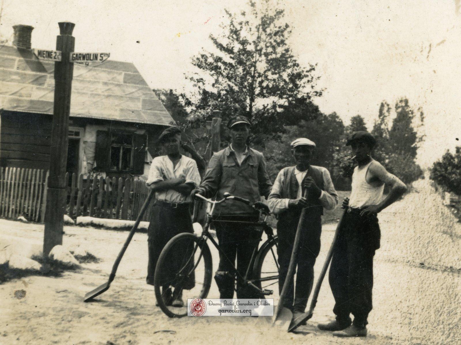 Wola Rębkowska 1944 - ale jakie skrzyżowanie?