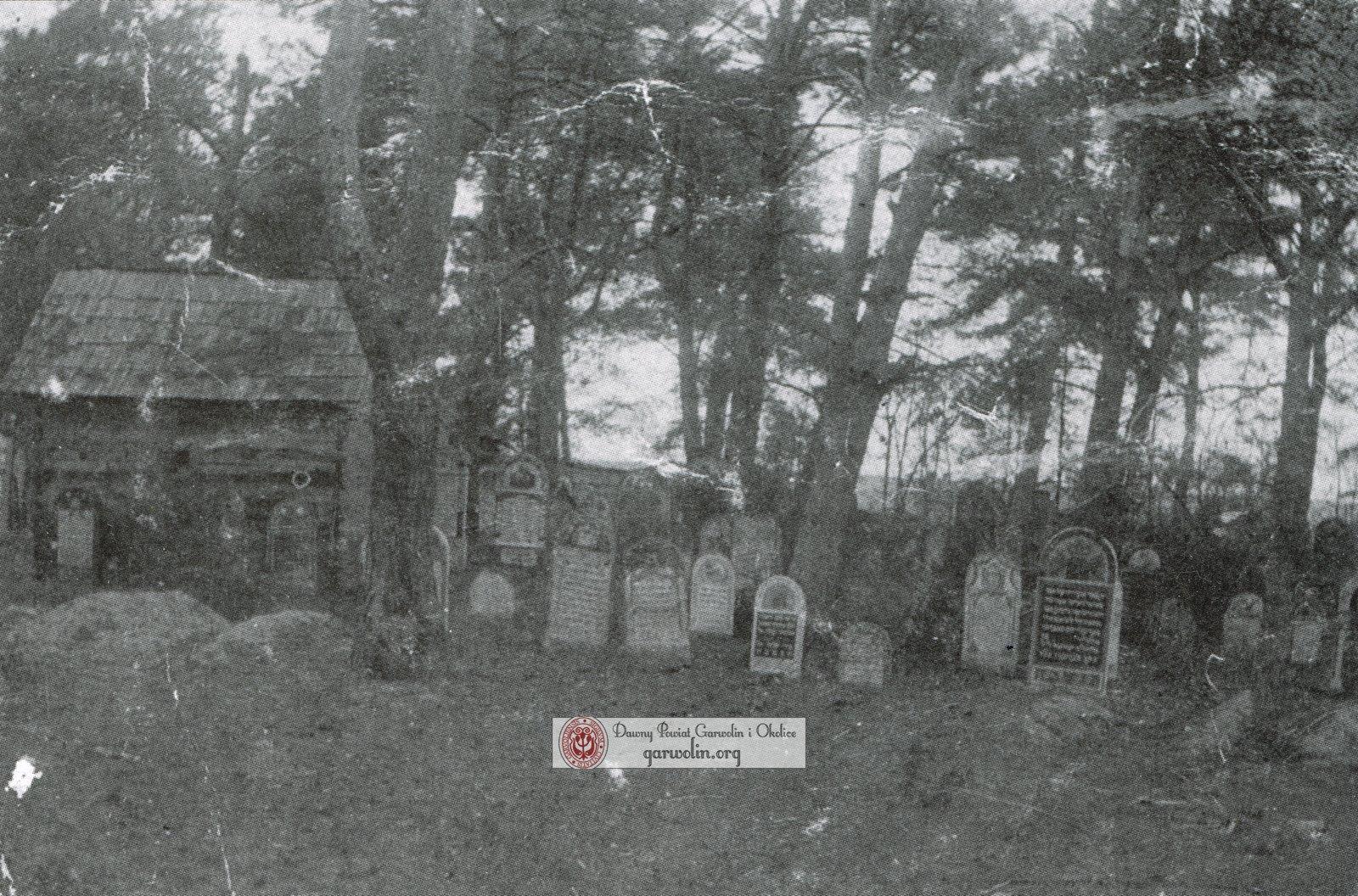 """Cmentarz Żydowski """"Kirkut"""" w Sulbinach w 1912r."""