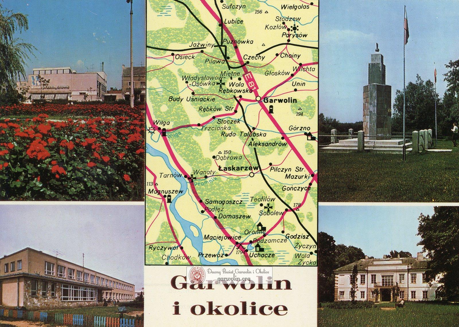 Garwolin i okolice na pocztówce