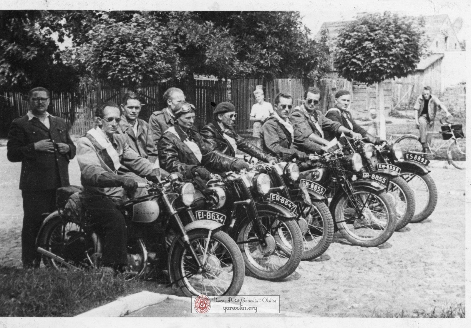 Garwoliński Klub Cyklistów 1950-1953