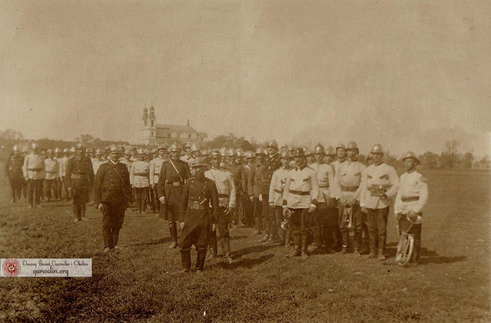 Ochotnicza Straż Ogniowa powiatu garwolińskiego w 1920 r.