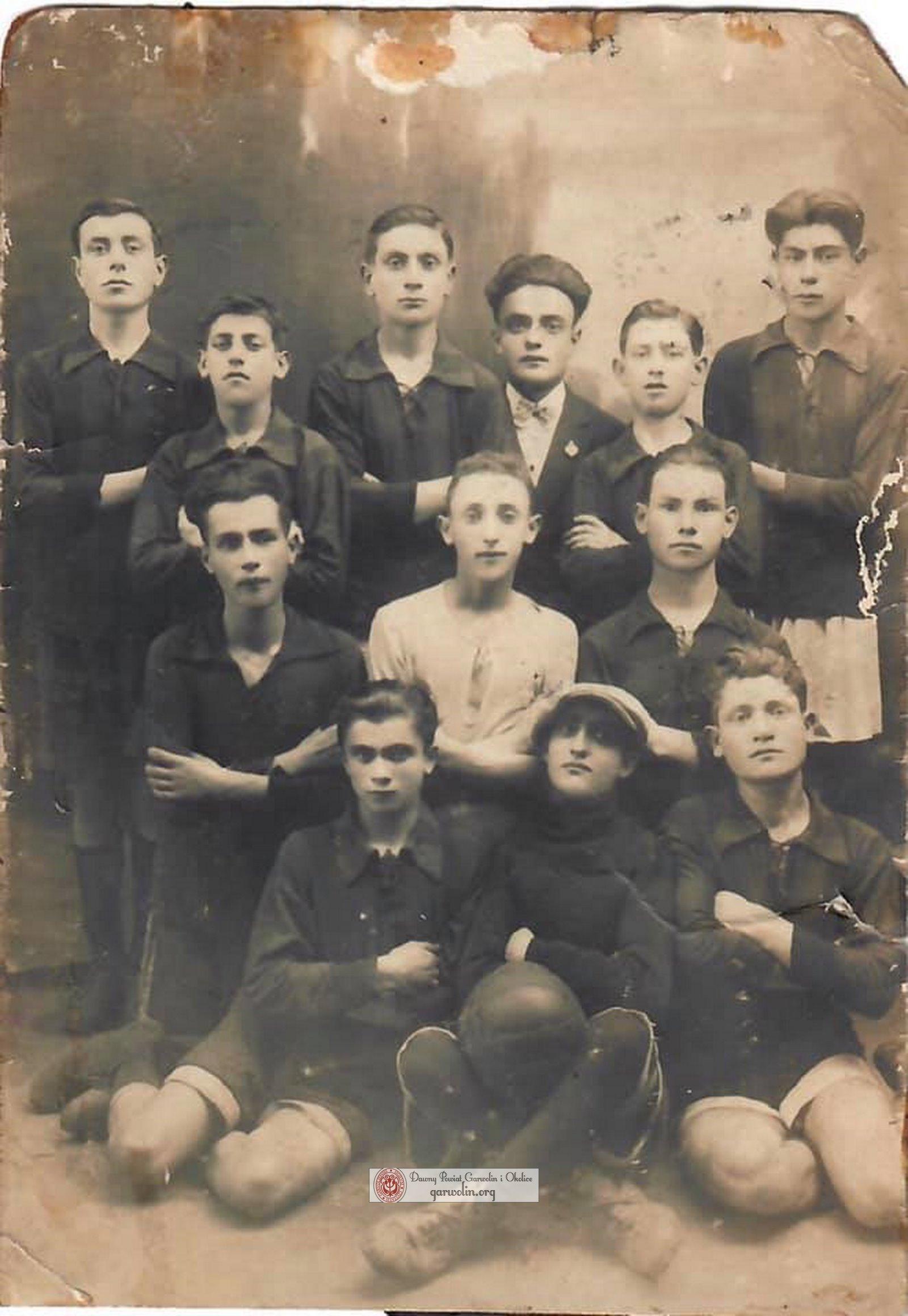 Żydowska drużyna piłkarska w Żelechowie. Lata 20-te XX wieku