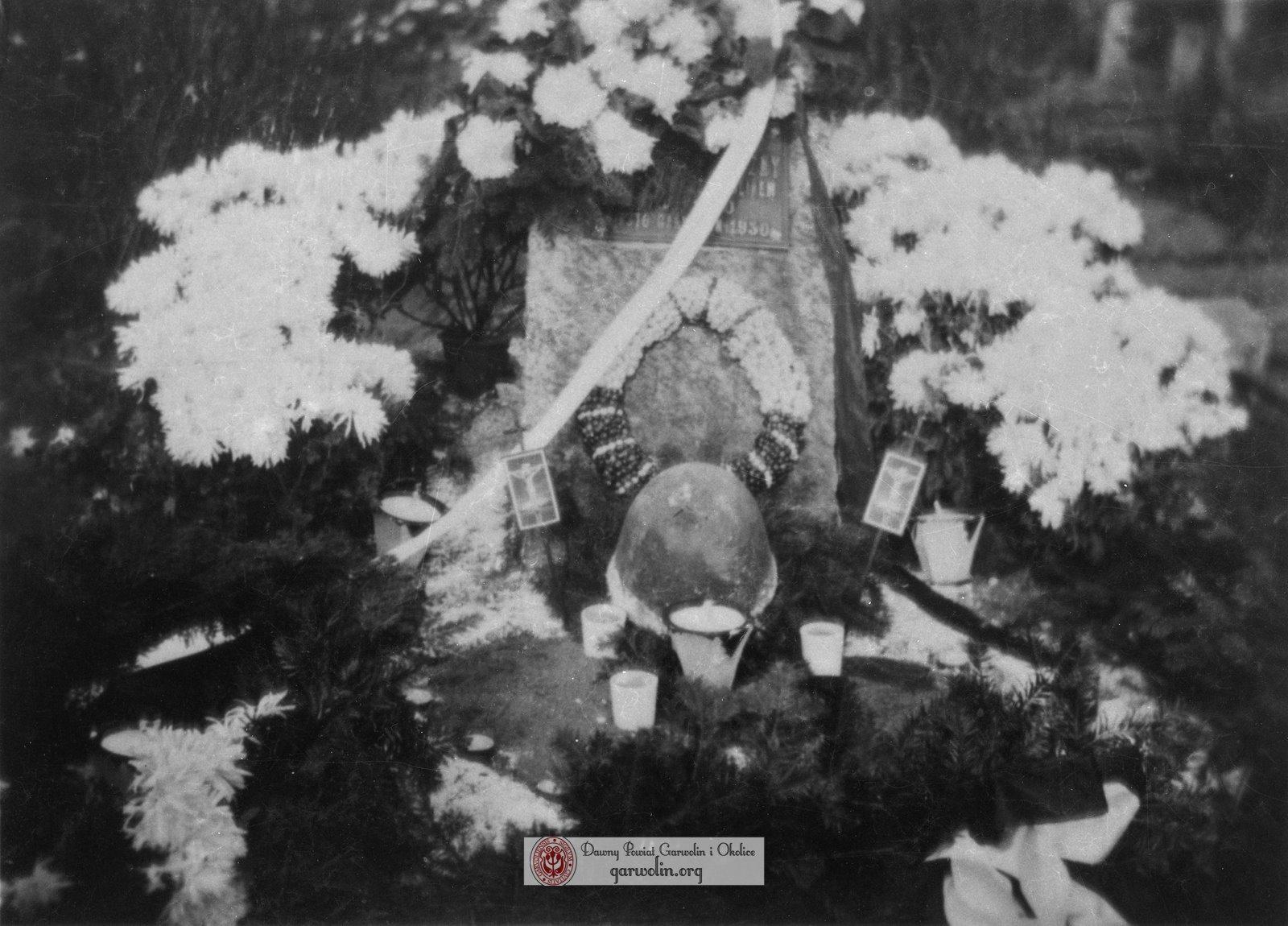 Mogiła nieznanych żołnierzy z 1920 r.
