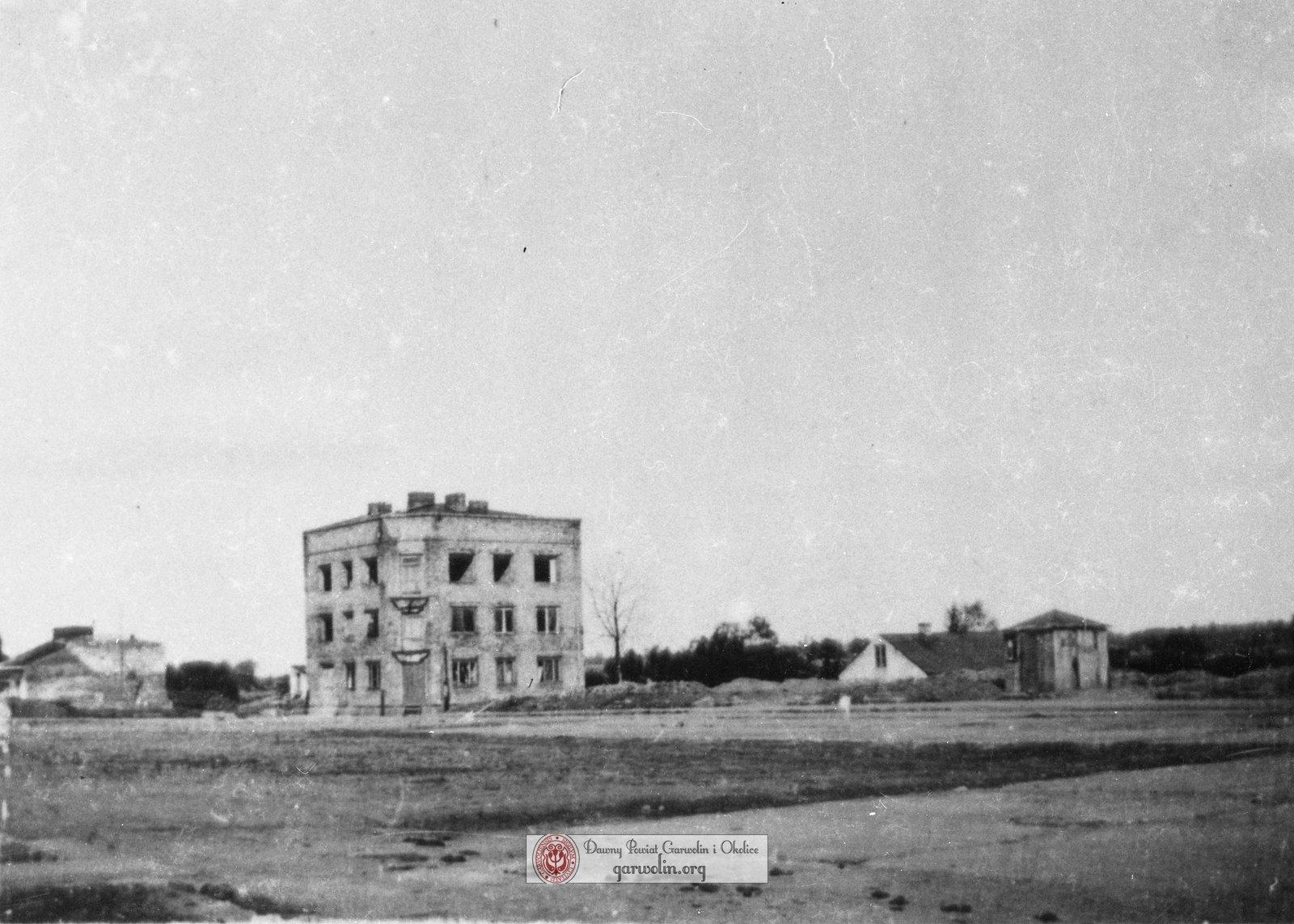 Zniszczony bombardowaniem Garwolin