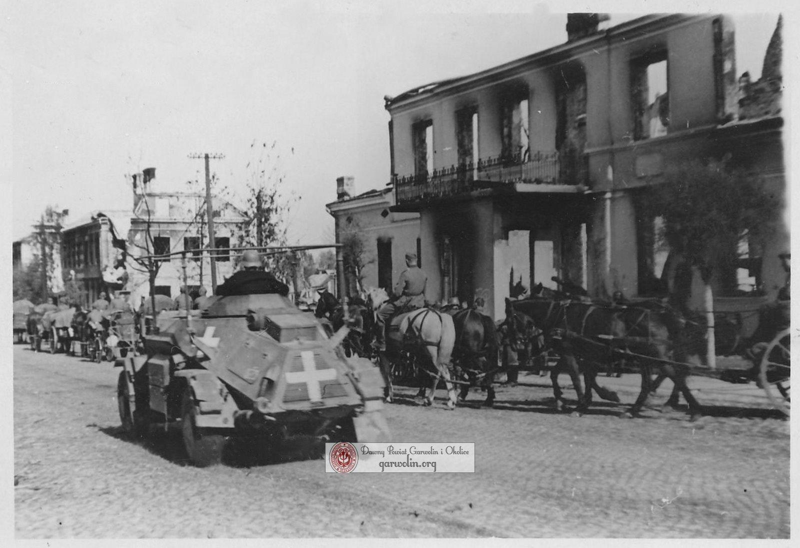 Niemcy w Garwolinie