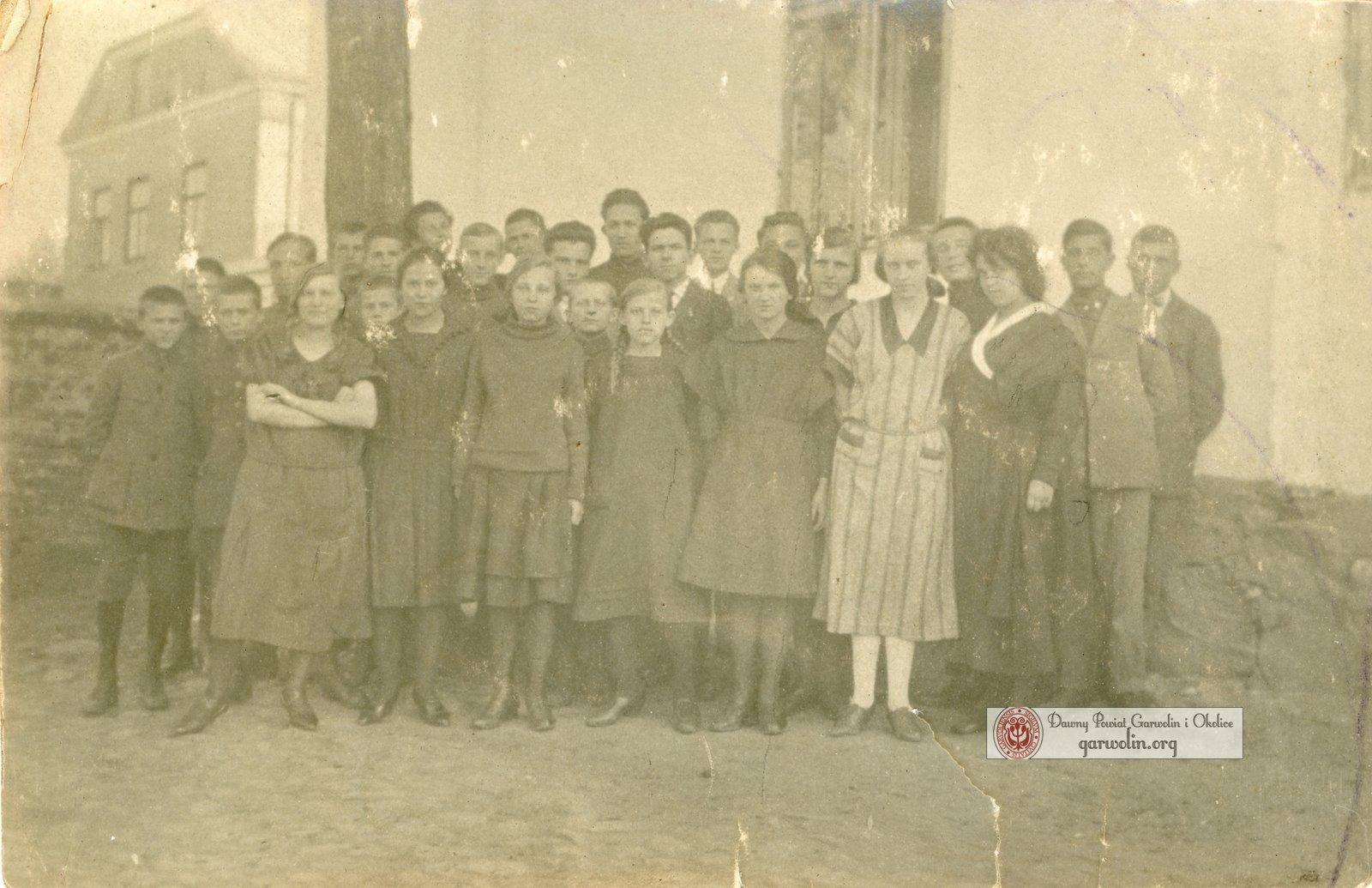 Szkoła Powszechna kl V 1924/25