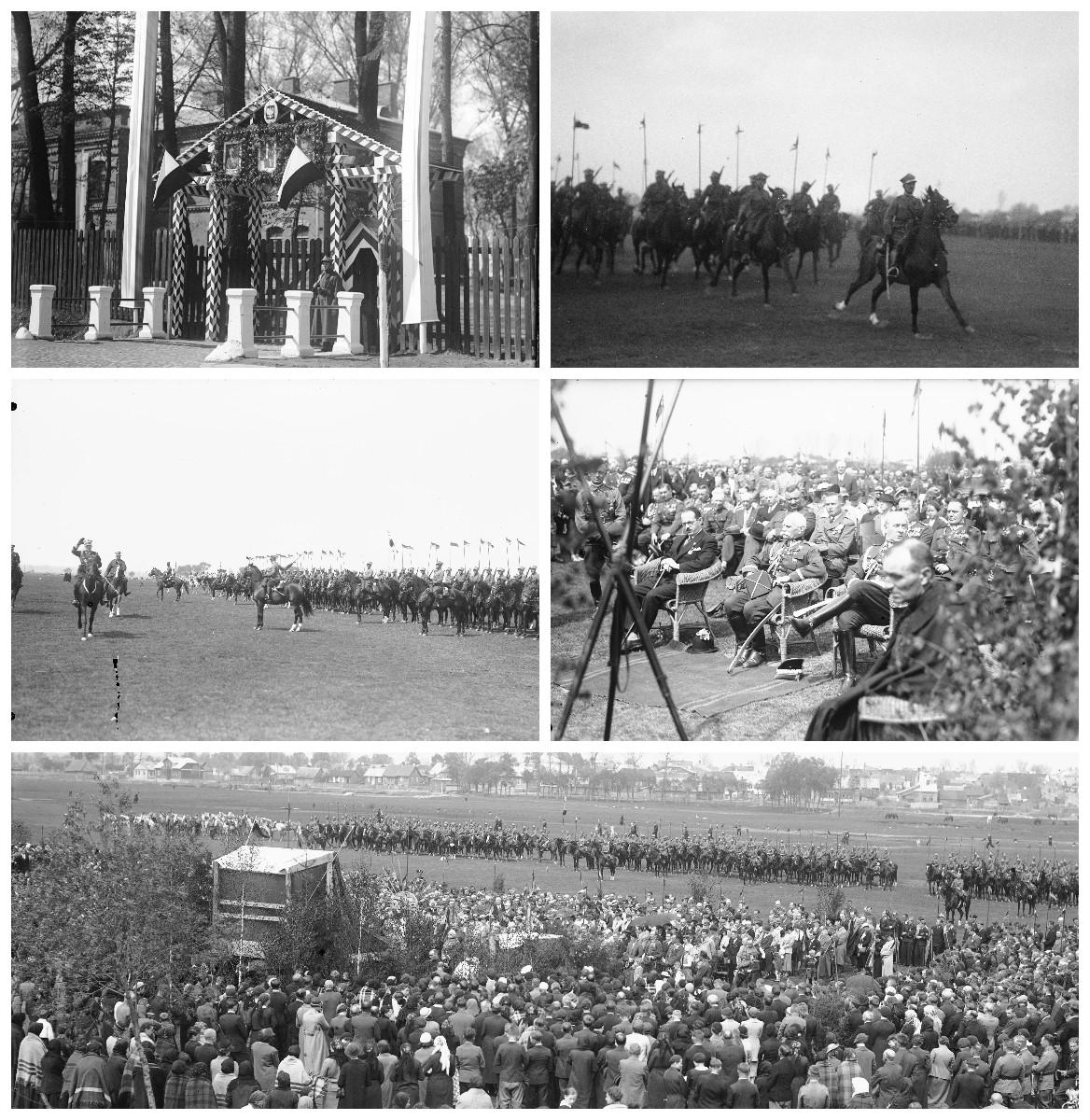 Święto 1. Pułku Strzelców Konnych - 1937 rok.