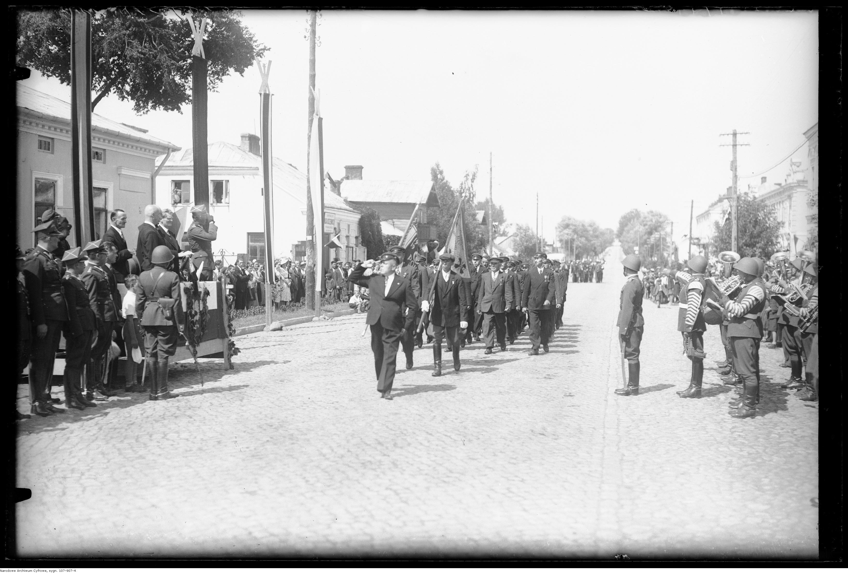 Święto Żołnierza - obchody w Garwolinie - 15 sierpnia 1939