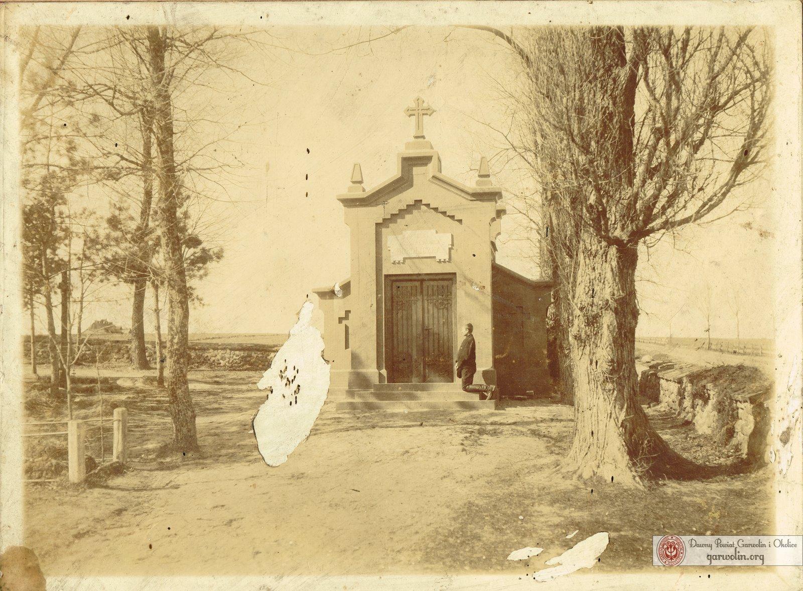 Grób rodziny Hordliczków w Garwolinie