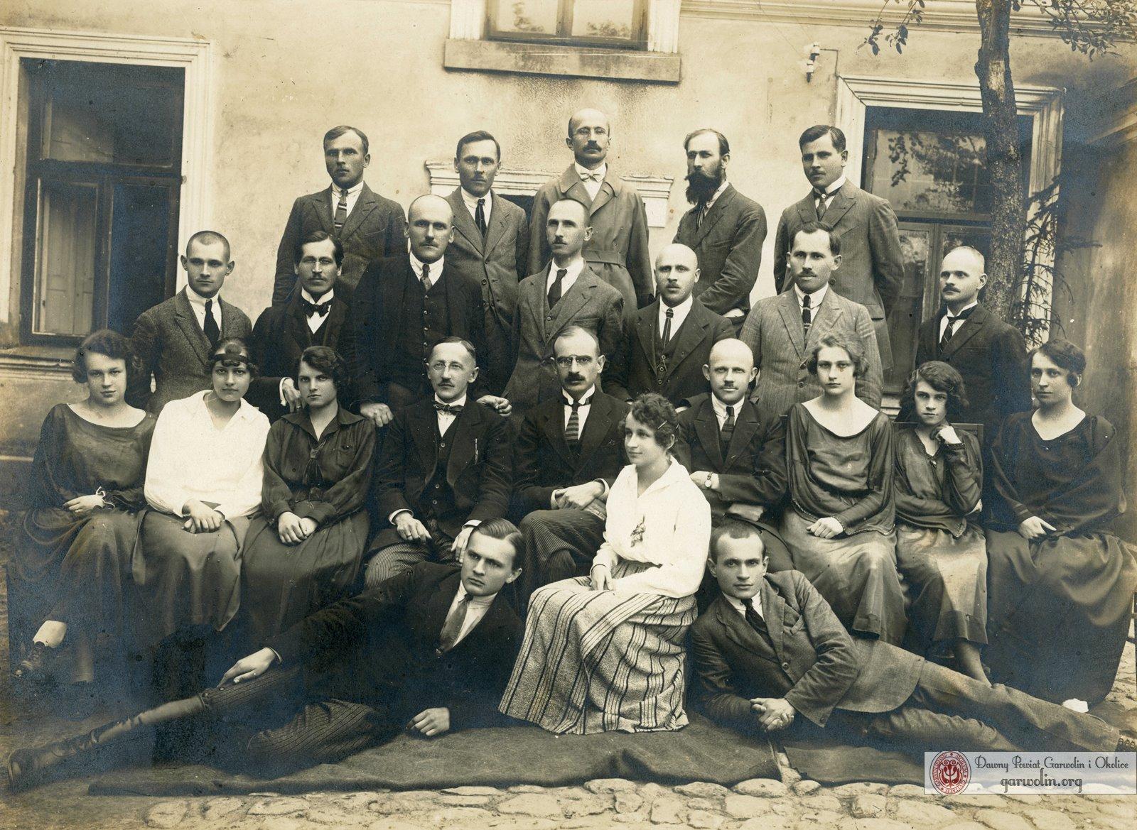 Pracownicy starostwa garwolińskiego - 1931 r.